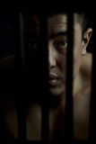φυλακισμένος λυπημένος Στοκ Φωτογραφία
