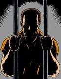 φυλακισμένος διανυσματική απεικόνιση