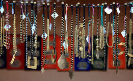 Φυλετικά κοσμήματα χαντρών Στοκ εικόνες με δικαίωμα ελεύθερης χρήσης