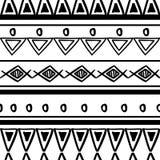 Φυλετική σύσταση σχεδίων με συρμένο χέρι Αφρικανό, αζτέκικα, maya δημιουργική διανυσματική απεικόνιση σχεδίων Γραπτά σχέδια λωρίδ ελεύθερη απεικόνιση δικαιώματος