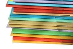 φυλλάδια πολύχρωμα Στοκ Φωτογραφία