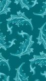 φυλλώδης άνευ ραφής ταπετσαρία προτύπων Στοκ Εικόνες