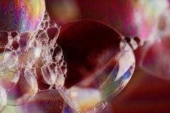 φυσαλίδες ζωηρόχρωμες Στοκ Εικόνες