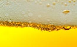 φυσαλίδες μπύρας στοκ εικόνα