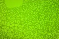 φυσαλίδες πράσινες Στοκ Φωτογραφία