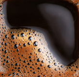 Φυσαλίδες του καφέ αφρού στοκ εικόνα με δικαίωμα ελεύθερης χρήσης