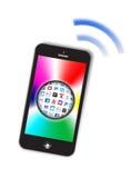 Φυσαλίδα Apps έννοιας Smartphone Στοκ εικόνα με δικαίωμα ελεύθερης χρήσης