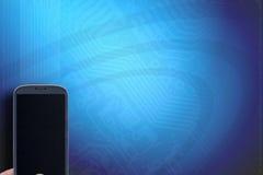 Φυσαλίδα Apps έννοιας Smartphone Στοκ εικόνες με δικαίωμα ελεύθερης χρήσης