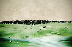 Φυσαλίδες νερού στοκ φωτογραφία με δικαίωμα ελεύθερης χρήσης