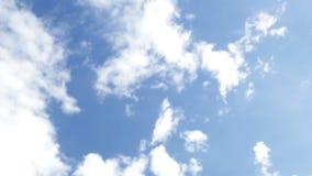 Φυσαλίδες στον ουρανό απόθεμα βίντεο