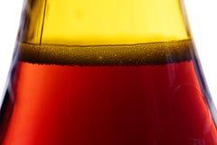 Φυσαλίδες στο bootle Στοκ Φωτογραφίες