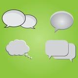 Φυσαλίδες συνομιλίας καθορισμένες Στοκ φωτογραφία με δικαίωμα ελεύθερης χρήσης
