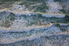 φυσικά κύματα σύστασης θάλασσας σχεδίου έργου τέχνης Στοκ Εικόνα