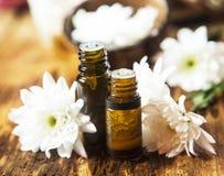 Φυσικά πετρέλαια Aromatherapy Στοκ Εικόνες