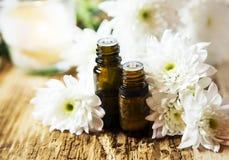 Φυσικά πετρέλαια Aromatherapy Στοκ εικόνες με δικαίωμα ελεύθερης χρήσης
