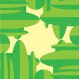 Φυσικά πράσινα αφηρημένα κάθετα οριζόντια φύλλα υποβάθρου ελεύθερη απεικόνιση δικαιώματος