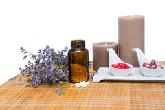 Φυσικά προϊόντα για aromatherapy Στοκ Εικόνες