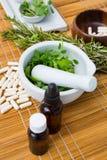 Φυσικά προϊόντα για aromatherapy Στοκ φωτογραφία με δικαίωμα ελεύθερης χρήσης