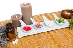Φυσικά προϊόντα για aromatherapy Στοκ εικόνες με δικαίωμα ελεύθερης χρήσης