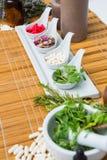 Φυσικά προϊόντα για aromatherapy Στοκ φωτογραφίες με δικαίωμα ελεύθερης χρήσης