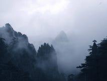 Φυσικά σημεία στο υποστήριγμα Huangshan, επαρχία Anhui, Κίνα Στοκ εικόνες με δικαίωμα ελεύθερης χρήσης