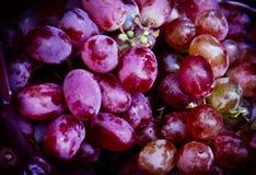 Φυσικά σταφύλια φρούτων Στοκ Φωτογραφία