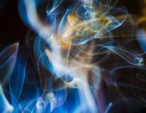 Φυσικά σύννεφα καπνού Στοκ Εικόνες