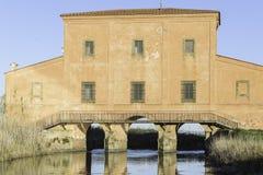 Φυσικά τοπία επιφύλαξης Botrona Diaccia Στοκ εικόνα με δικαίωμα ελεύθερης χρήσης