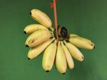 Φυσικά υγιή τρόφιμα της μπανάνας Στοκ εικόνες με δικαίωμα ελεύθερης χρήσης