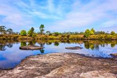Φυσικές λίμνες Στοκ Φωτογραφία