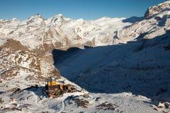 Φυσικές απόψεις γύρω από Zermatt και Matterhorn, Ελβετία Στοκ φωτογραφίες με δικαίωμα ελεύθερης χρήσης