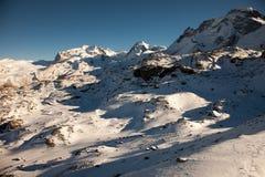 Φυσικές απόψεις γύρω από Zermatt και Matterhorn, Ελβετία Στοκ εικόνα με δικαίωμα ελεύθερης χρήσης