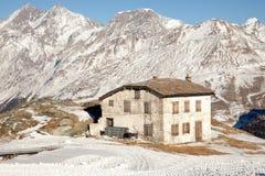 Φυσικές απόψεις γύρω από Zermatt και Matterhorn, Ελβετία Στοκ φωτογραφία με δικαίωμα ελεύθερης χρήσης
