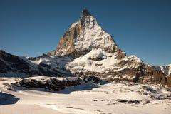 Φυσικές απόψεις Matterhorn, Ελβετία Στοκ φωτογραφίες με δικαίωμα ελεύθερης χρήσης