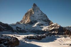 Φυσικές απόψεις Matterhorn, Ελβετία Στοκ φωτογραφία με δικαίωμα ελεύθερης χρήσης