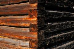 Φυσικές λεπτομέρειες του ξηραμένου από τον ήλιο ξύλου Στοκ εικόνες με δικαίωμα ελεύθερης χρήσης