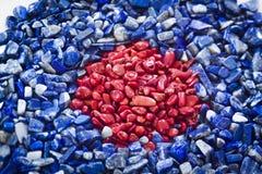 Φυσικές μικρές πέτρες Στοκ Εικόνες