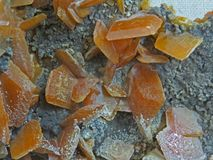 Φυσικές μορφές Μεταλλεύματα και ημιπολύτιμα συστάσεις και υπόβαθρα πετρών στοκ φωτογραφίες