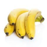Φυσικές μπανάνες Στοκ φωτογραφία με δικαίωμα ελεύθερης χρήσης