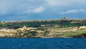 Φυσική άποψη από τη Μάλτα Στοκ φωτογραφία με δικαίωμα ελεύθερης χρήσης