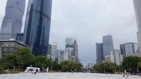 Φυσική άποψη της επιχείρησης κεντρικός σε Guangzhou απόθεμα βίντεο