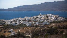 Φυσική άποψη του νησιού της Μήλου, Ελλάδα Ταξίδι Στοκ Φωτογραφίες