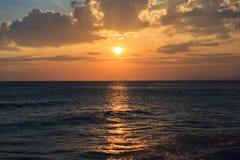 Φυσική άποψη του muine ηλιοβασιλέματος Στοκ εικόνα με δικαίωμα ελεύθερης χρήσης