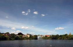 Φυσική άποψη Diss Norfolk που αγνοεί το μόνο Στοκ εικόνα με δικαίωμα ελεύθερης χρήσης