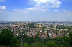 Φυσική άποψη Plovdiv Στοκ φωτογραφία με δικαίωμα ελεύθερης χρήσης