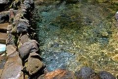 Φυσική λίμνη κρυστάλλου Στοκ Εικόνες