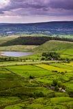 Φυσική αγγλική επαρχία άποψης στοκ εικόνα