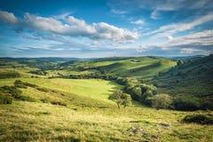Φυσική βρετανική επαρχία στο καλοκαίρι στοκ φωτογραφία με δικαίωμα ελεύθερης χρήσης