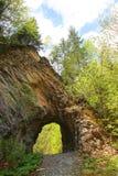Φυσική γέφυρα πετρών Στοκ Φωτογραφία