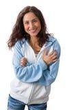 Φυσική γοητευτική γυναίκα Στοκ εικόνα με δικαίωμα ελεύθερης χρήσης